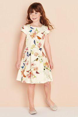 Vestidos Sencillos De Niña 15 Bellos Diseños Con Fotos