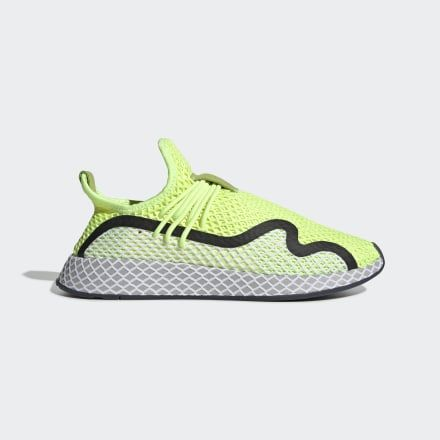 Deerupt S Runner Shoes Hi-Res Yellow Mens | Runners shoes ...