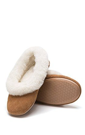 Washable Fuzzy Womens Slippers PajamaGram Soft Flip Flop Slippers