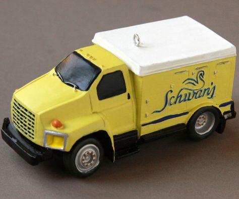 2004 Schwan S Truck Ornament Ice Cream Frozen Food Delivery Xmas