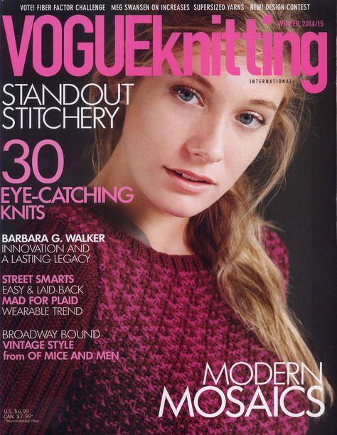 Vogue Knitting Winter 2014/2015