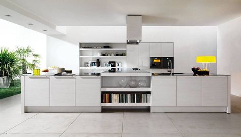 30 Contemporary White Kitchens Ideas Kitchen colors, Kitchens - alno küchen werksverkauf