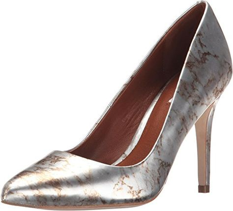 Womens Shoes Cole Haan Emery Pump 100 Mirror Marble Print