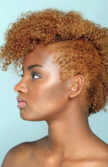 40 Stylish African American Hairstyles For Women Blonde Hair