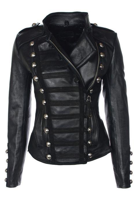 NN Napoleon (Oil black) – Leather Jackets, Mens, Womens Biker & Military Leather Jackets
