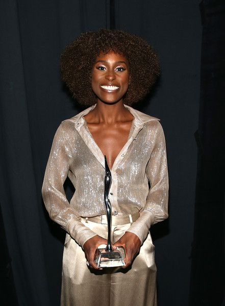 Honoree Issa Rae is seen backstage during Black Girls Rock! 2017 at NJPAC.