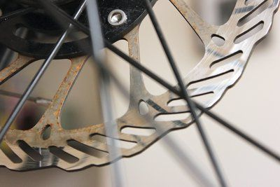Removing Rust From A Bicycle Disc Brake Rotor With Images
