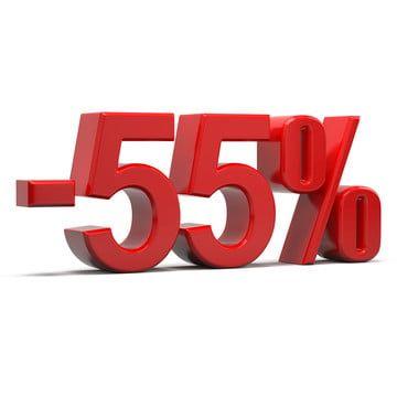 55 في المئة خصم النص 3d 55 خصم في المئة Png وملف Psd للتحميل مجانا Free Psd Design Psd Designs Free Psd