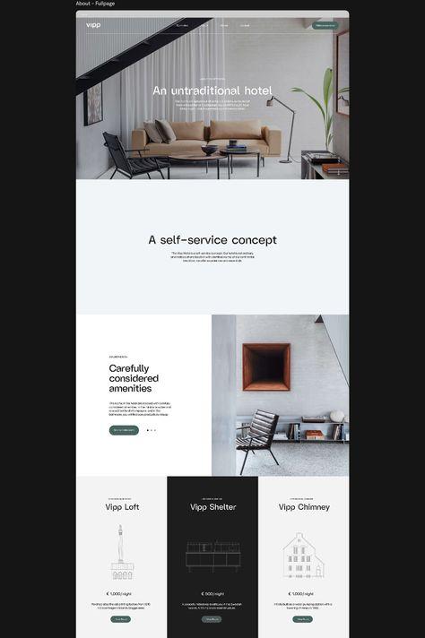 Vipp Hotel - Website