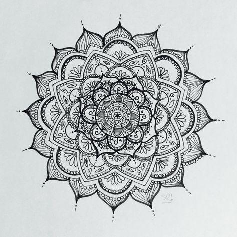 Mandala #5 - Created by Sofi Ruiz