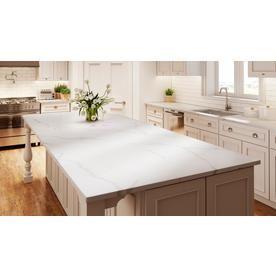 Allen Roth Alluring Quartz Kitchen Countertop Sample At Lowes