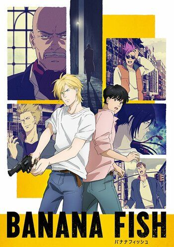 Aniplex today released a second key visual for the upcoming TV anime adaptation of Akimi Yoshida's crime action manga series BANANA FISH featuring its. Manga Anime, Anime Guys, Anime Dvd, Anime Chibi, Manhwa, Poster Wall, Poster Prints, Posters, Fisher