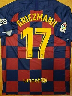 newest 63dba 6ec75 Advertisement(eBay) New 2019/20 Barcelona home soccer jersey ...
