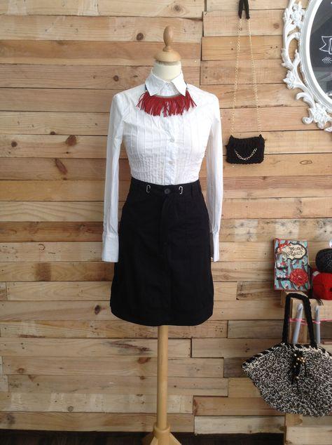 Segunda mano, ventas, camisa, falda #loszapatosqueseanrojos