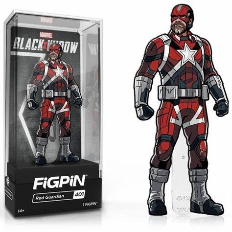 Black Widow Movie Red Guardian FiGPiN Classic Enamel Pin #401
