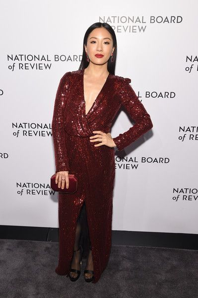 Constance Wu attends The National Board of Review Annual Awards Gala at Cipriani 42nd Street.