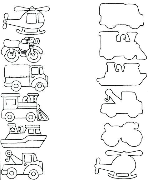 Transportation Worksheets For Preschoolers A Tagn Transportation Preschool Preschool Worksheets Transportation Worksheet