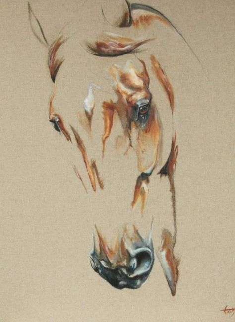 striking horse painting like you have never seen before… I am sure, you will be stunned to see these horses, because I was just gazing at them, and that'
