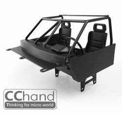 RC4WD Metal Interior for RC4WD TF2 Body + SCX10 / SCX10 II