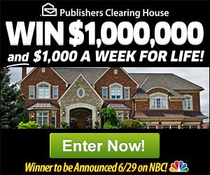 NBC The PCH.com Win It All! Giveaway | Sweepstakes PIT