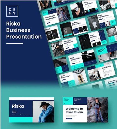 Riska – Business PowerPoint Template