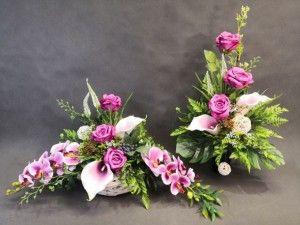Stroiki Na Groby Kompozycje Kwiatowe Marko604 Orchid Flower Arrangements Creative Flower Arrangements Large Floral Arrangements
