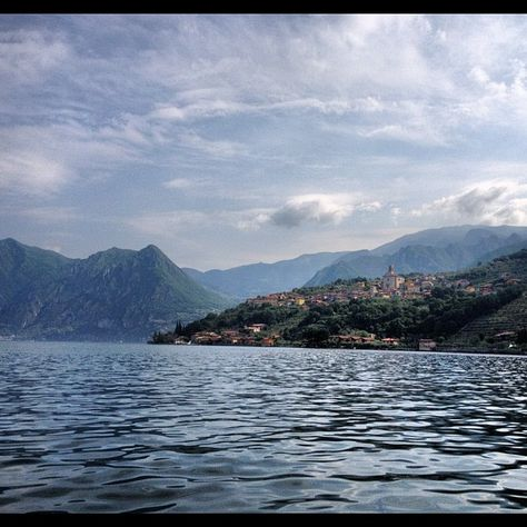 Instagramming ... Brescia and Lake Iseo.