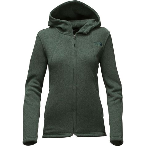 261d4673dc14 The North Face - Crescent Hooded Fleece Jacket - Women s - Darkest Spruce  Heather
