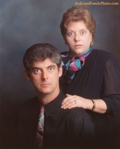 Awkward Family Photos...they r saying...