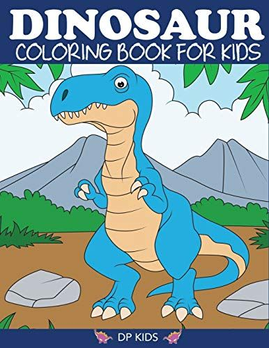 Go To The Product Page For Dinosaur Coloring Book For Kids Fantastic Dinosaur Coloring Book For Boys Toddler Coloring Book Coloring Books Kids Coloring Books