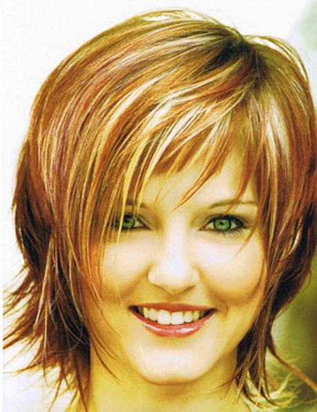 Modische Frisuren Halblang Hair Cut Fransige Kurzhaarfrisuren