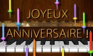 Un Air De Piano Carte Anniversaire Animee Jolie Carte Anniversaire Carte Anniversaire