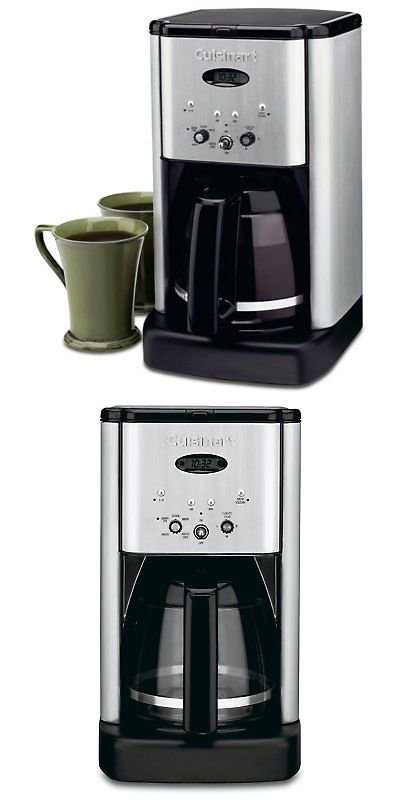 Filter Coffee Machines 184665 Cuisinart Dcc 1200 Brew Central 12 Cup Programmable Coffeemaker Black And Buy It Filter Coffee Machine Coffee Maker Cuisinart