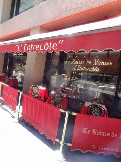 Scrumpdillyicious Le Relais De Venise L Entrecote Nyc Steak