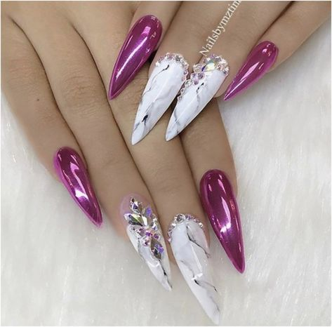 The Cute Light Stiletto Nail Design At 2019 – Page 39 – BeautyCuco Blog