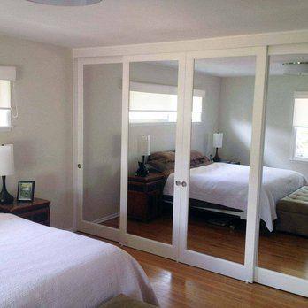 Closet Doors: Mirrored Sliding Glass Doors | Yelp | Dance Studio |  Pinterest | Closet Doors, Glass Doors And Doors