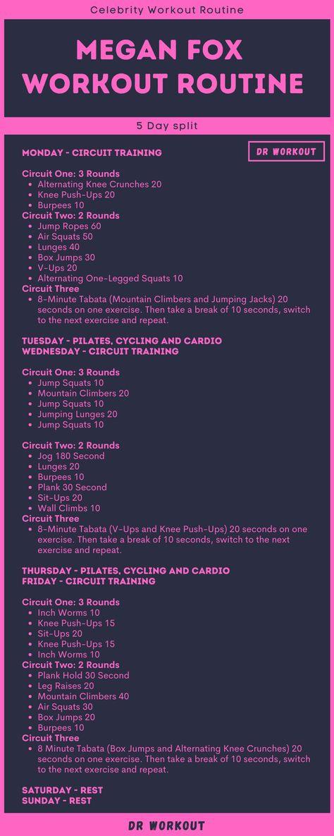 Megan Fox Workout Routine