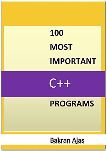 100 Most Important C Programs Free Ebooks Download C Programming