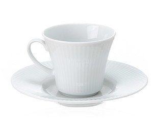 Jogo De Xicara De Cafe Com Pires Adler De Porcelana Branco Com 6 Pecas Xicaras De Porcelana Jogo De Xicaras Porcelana Branca