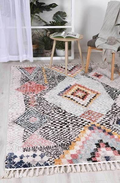 Boho Rugs Living Room White Rug