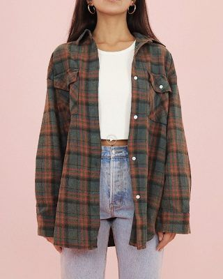 Flannel Jahre Flanell - Cry B. hipster outfits that will make you look great 14 ~ Lightweight Dolman Pullover Sweater Buy Melon Juice Mock Two-Piece Striped Sweatshirt Cute Casual Outfits, Retro Outfits, Cute Vintage Outfits, 90s Style Outfits, Cute Grunge Outfits, Simple School Outfits, Popular Outfits, Trendy Winter Outfits, Cute Outfits For Fall