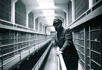 The B Block Corridor Known As Broadway By Alcatraz Inmates