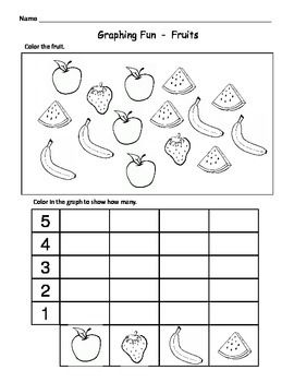 Kindergarten Math Graphs Fun Easy Graph Worksheets Graphing Worksheets Graphing Fun Kindergarten Worksheets