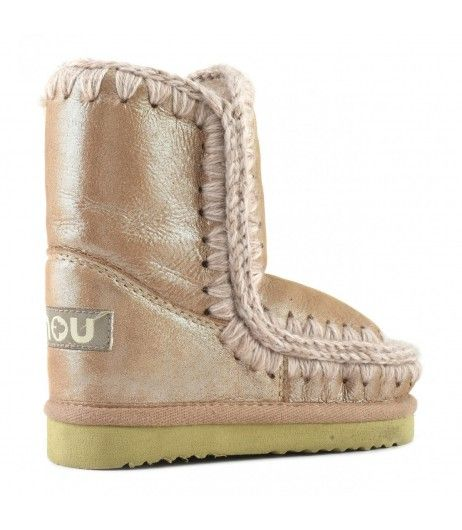 0e1f559ed43 Mou Mini Eskimo Boots Kid Microglitter Pink #fashion #trending ...
