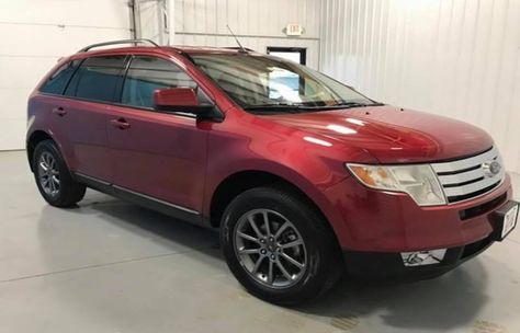 2008 Ford Edge Sel 3 5l Fwd One Owner Local Trade Cloth