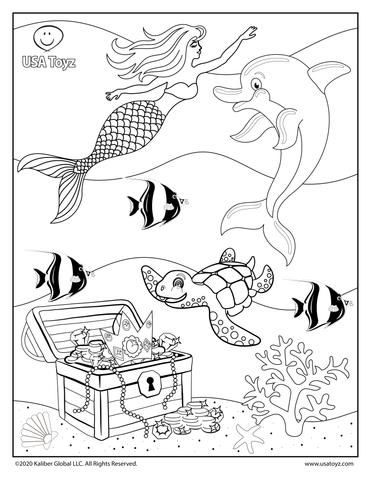 Fun Activities And Free Coloring Pages For Kids Free Coloring Pages Mermaid Coloring Pages Coloring Pages