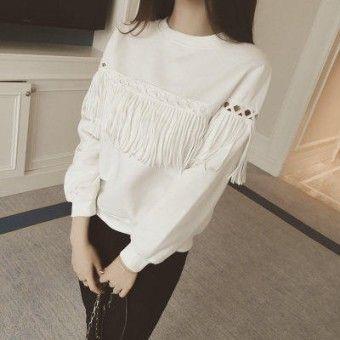 Baju Putih Lengan Panjang