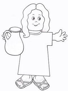 Ministerio Infantil Criancas Para Cristo Bonequinhos Para Aula Da