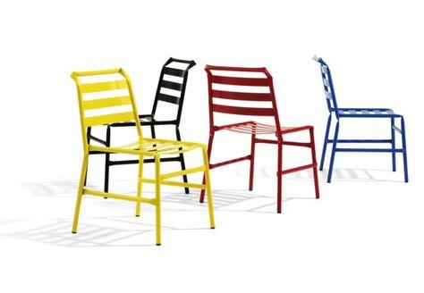 Straw, Stackable Chair Made Entirely Of Tubular Steel By Osko + Deichmann    Bla Station | MUNKA_óbuda_belső_udvar | Pinterest | Steel, Stackable Chairs  And ...