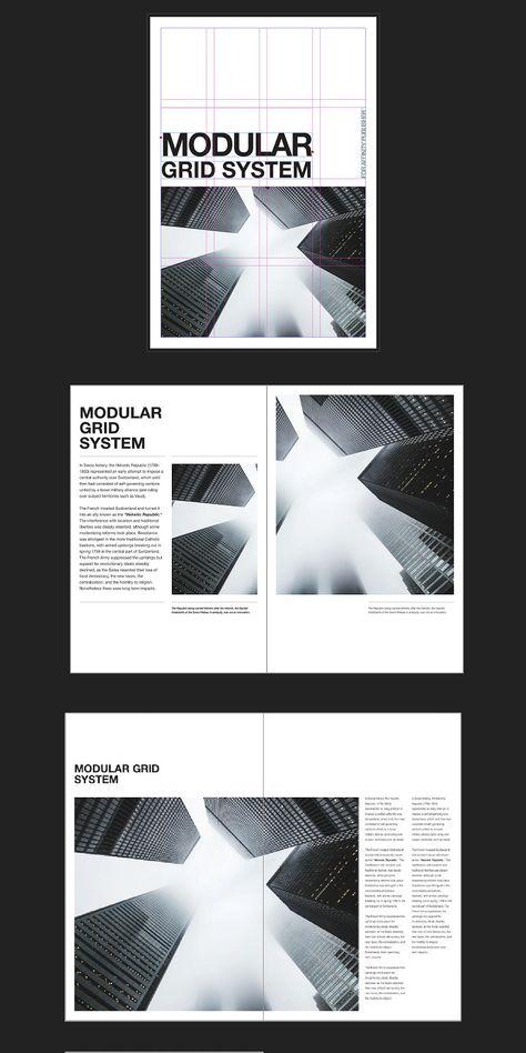Modular Grid System A4